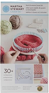 Lion Brand Yarn Martha Stewart Crafts Knit and Weave Loom Kit (5000-100)