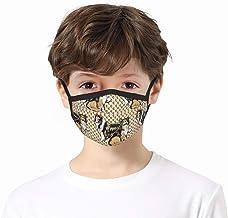 zhouyongz Sable Collies Wegwerp Face Bandanas, geen wasbaar, ademend en anti-waze stof, voor kinderen