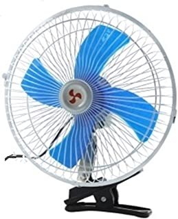 Table Fan Car Truck Mini Fan 12v 6 Inch 8 Inch 10 Inch Strong Wind Car Interior Electric Fan Desktop Fan (Color : Car 10 i...