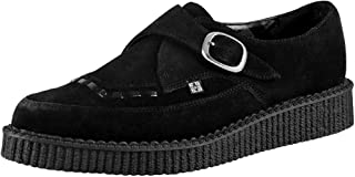 Unisex Shoes Pointed Monk Buckle Brothel Creeper