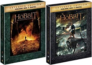 The Hobbit DVD Bundle: Extended Edition Movies 2-3 (The Desolation of Smaug + The Battle of the Five Armies)