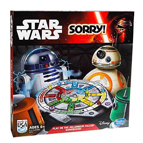 Sorry! Star Wars Edition Family Board Game 2014 Disney Hasbro