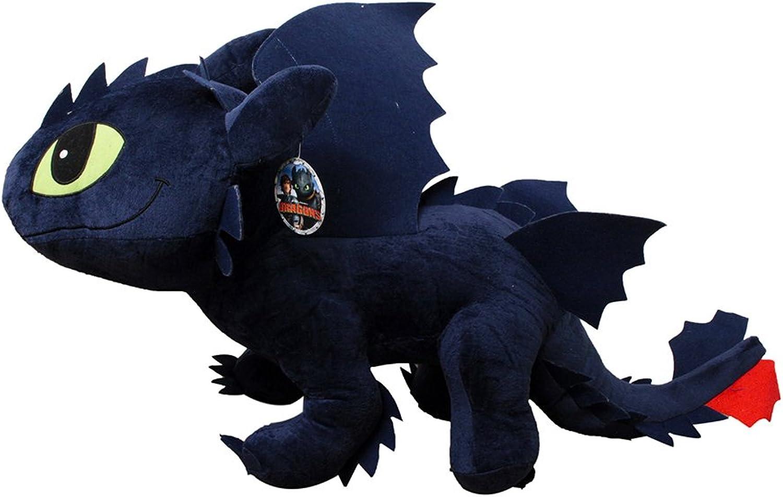 Drachenzhmen leicht gemacht - Plüsch Ohnezahn 95cm Toothless riesig Dragon