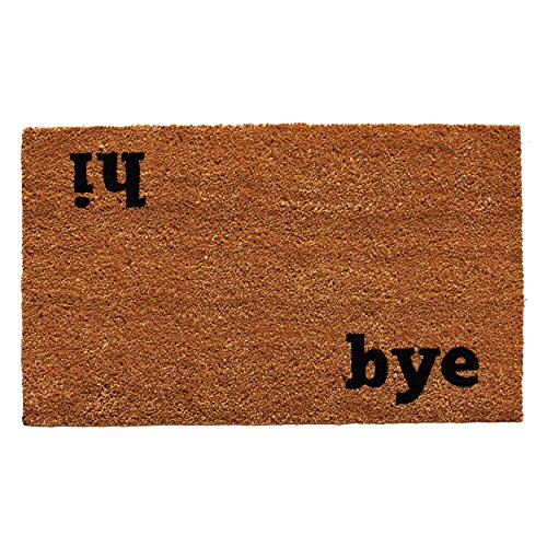 Home & More 100501729 Hi Bye Doormat