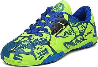 babd487e3a9 Indoor Soccer Boots Sport Football Futzalki Sneakers Cleats Shoes Child 6.5  US Men Green