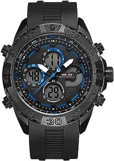 WEIDE WH6909 Quartz Digital Electronic Watch Dual Time Alarm Calendar Stopwatch 3ATM Waterproof Timer Business Men Fashion...