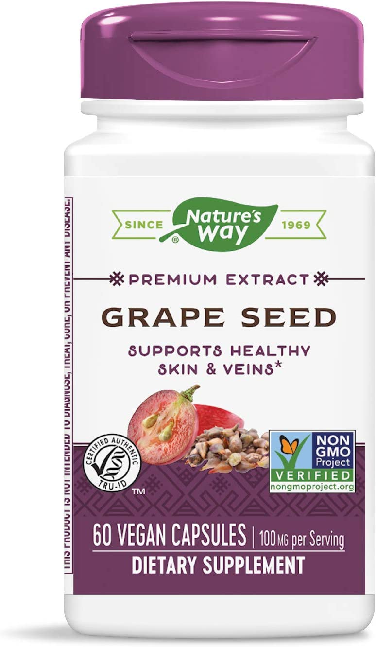 Nature's Way Courier shipping free shipping Premium Extract Standardized Seed Grape Ranking TOP18 95% Polyphe