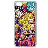 Générique Coque pour iPhone 6 Plus/6S Plus Motif Dragon Ball Manga Z San Goku Super