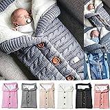 Saco de dormir para cochecito de bebé, mantas de pañales para bebés unisex,...