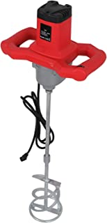BBBUY Electric Mortar Mixer, 1600W Handheld Dual High Low Gear 6 Speed Mixer Drill for Stirring Mortar Paint Cement Grout