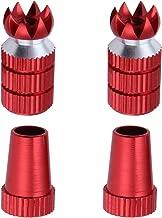 Hobbypark Aluminum RC Transmitter Stick Ends Controller Thumb Rocker M3 Thread for TX Futaba / FrSky / Spektrum DX6i DX7S DX8 DX9 / Taranis X9D /ETurnigy 9X / Hitec Aurora 9 (Red)