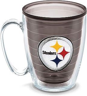Tervis NFL Pittsburgh Steelers Emblem Individual Mug, 16 oz, Quartz - 1086025