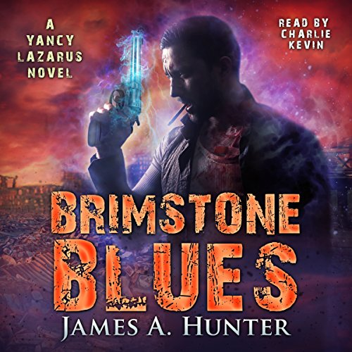 Brimstone Blues audiobook cover art