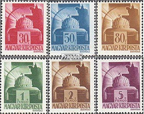 Prophila Collection Ungarn 736-741 (kompl.Ausg.) 1943 Freimarken (Briefmarken für Sammler)