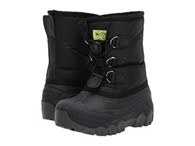 Western Chief Kids Arcterra EX Snow Boots (Toddler/Little Kid/Big Kid) (Black) Boys Shoes