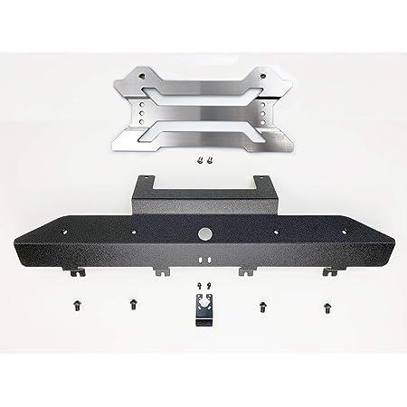 JEPPESEN FLC-COMBOライセンスブラケット& FCRB フロントカメラリロケーションブラケットコンボ チッピング塗装 ジープラングラー(JL)