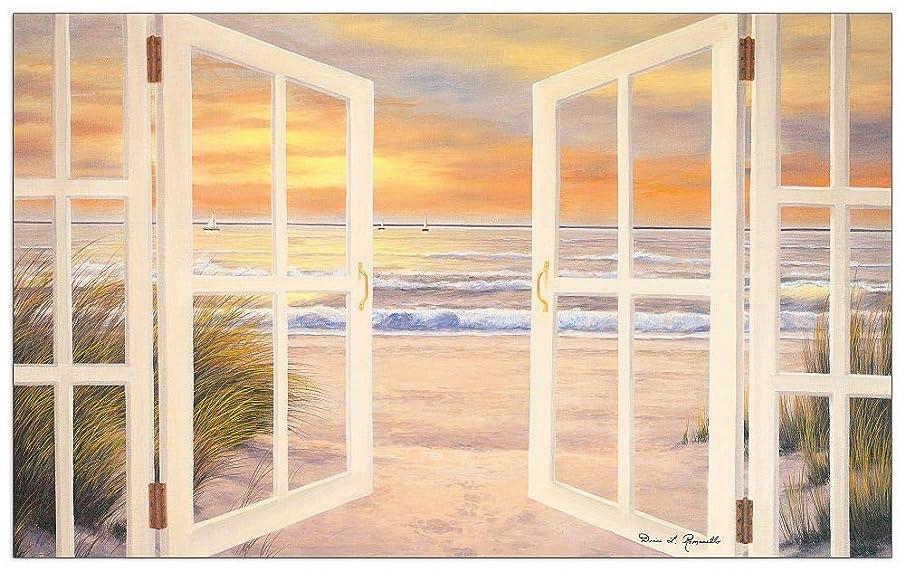 Artopweb TW20492 Decorative Panel 34.5x21.5 Inch Multicolored