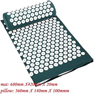 Massager Cushion Massage Yoga Mat Acupressure Relieve Stress Back Body Pain Spike Mat Acupuncture Massage Yoga Mat with Pi...