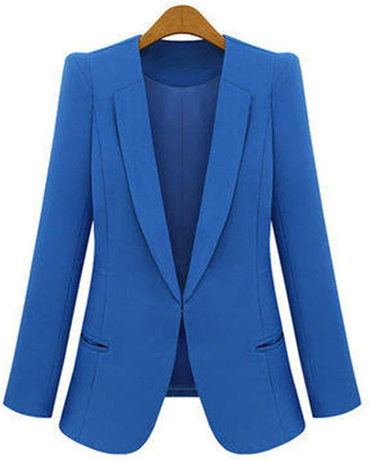 Cheryl Bull Fashion Women Long Sleeve Solid Leisure Western Style Suits Female Notched 4XL