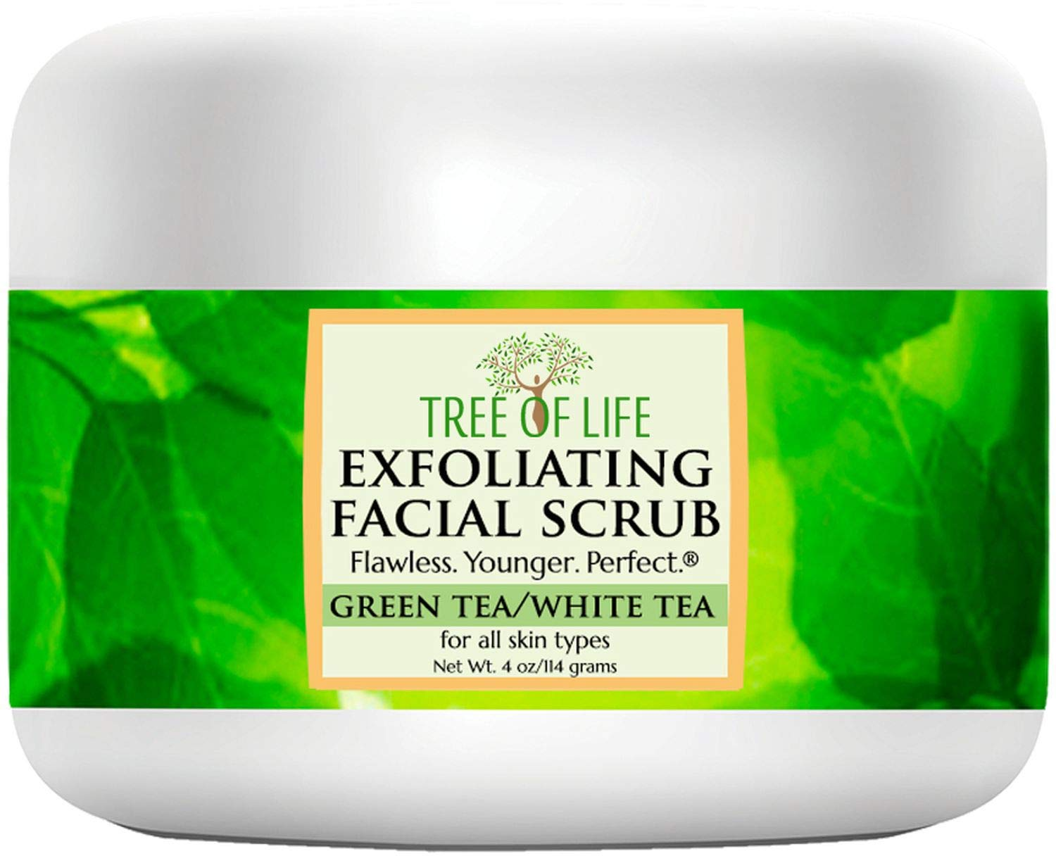 Exfoliating Facial Scrub Face and Body Cleanser: Beauty