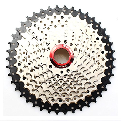 FOMTOR Cassette 10 vitesses 11–42T Large Ratio VTT Mountain Bike cassette Pignon avec Extended B-screw