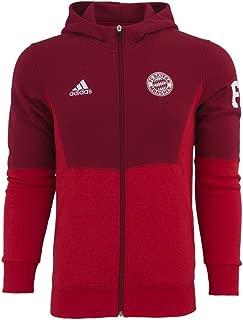 adidas 2015/16 FC Bayern Munich Full Zip Hoodie [CRARED]