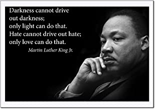 Martin Luther King Jr. Poster famous inspirational quote LARGE high-QUALITY banner