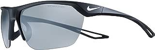 Nike Men's EV1063 010 EV1063 010 Square Sunglasses, Black, 63 mm