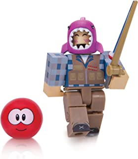 Roblox Action Collection - MeepCity Fisherman Figure Pack [Includes Exclusive Virtual Item]