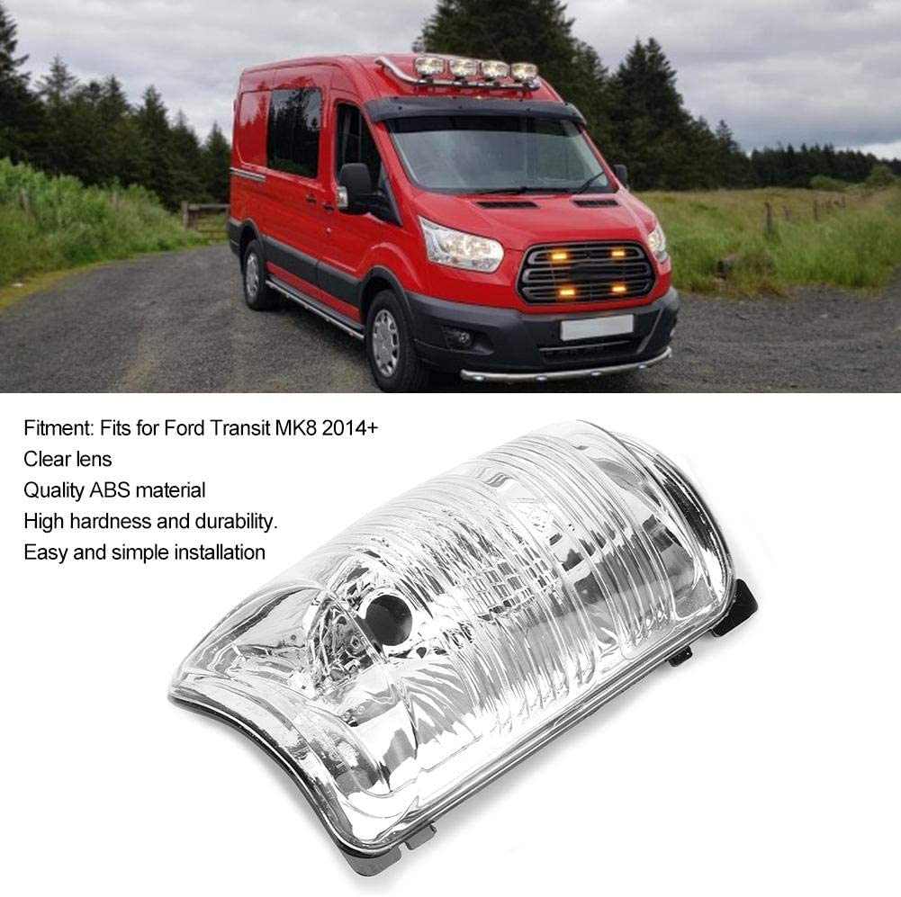 FORD TRANSIT MK8 2014 ON RIGHT/&LEFT DOOR WING MIRROR CLEAR INDICATOR LENS LAMP