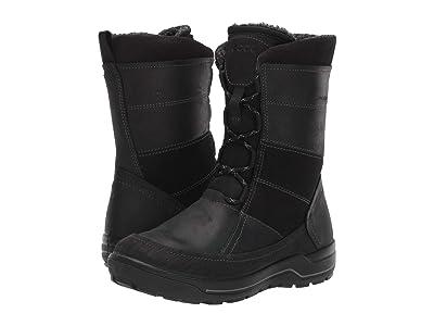 ECCO Sport Trace Hydromax Boot (Black/Black/Black) Women