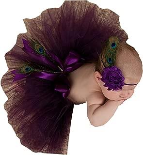 Sunrise Newborn Baby Outfits Photography Props Headdress Tutu Skirts