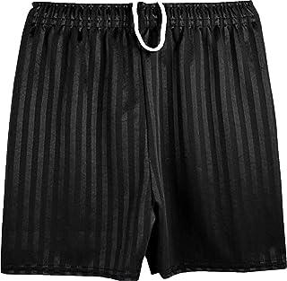 ND Sports School Shadow Stripe PE Shorts for 3-4 Years, Black