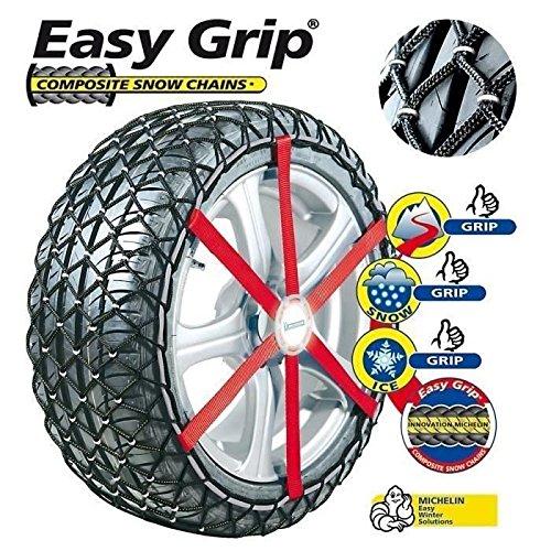 MICHELIN 008140 Easy Grip–Cadenas de Nieve, Material Compuesto