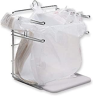 "SSWBasics Plastic Bag Holder - Fits 11½""Wx6""Dx21""H Bag - Unit Measures 12"