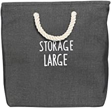 Laundry Baskets Waterproof Cotton Linen Folding Laundry Hampers Dirty Clothes Storage Organizer Household Bags With Handle...