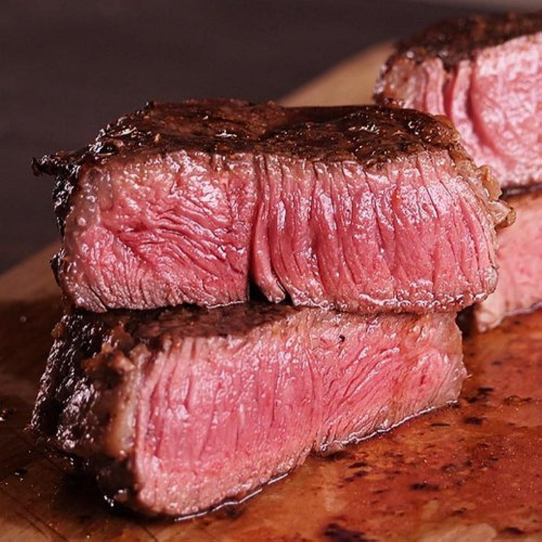 ミートガイ USDAチョイスグレード サーロインステーキ (350g×5枚 + ステーキスパイスのおまけ付き) USDA CHOICE Beef Striploin Steak (350g×5pc + Mini Steak Spice)