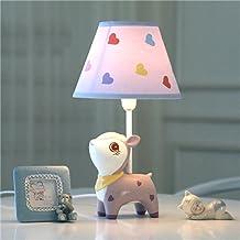 Desk Lamps Children's Room Cartoon Purple Deer Table Lamp Bedroom Bedside Lamp Creative Fashion Cute Warm Boy Girl Decorat...