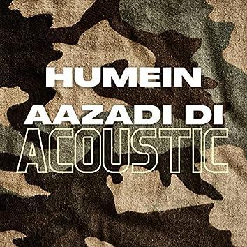 Humein Aazadi Di (Acoustic)