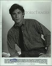 1985 Press Photo John Travolta Stars as Rolling Stone Reporter in