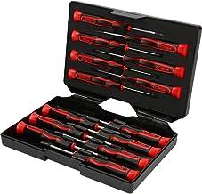 KS TOOLS Precision Screwdriver Set, 14 Pcs, PH, Slotted and Torx