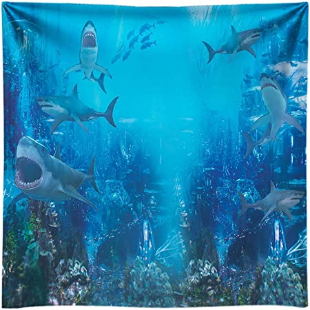 Underwater Backdrop Dolphin Photography Background MEETSIOY 7x5ft Themed Party Photo Booth YouTube Backdrop GYMT495