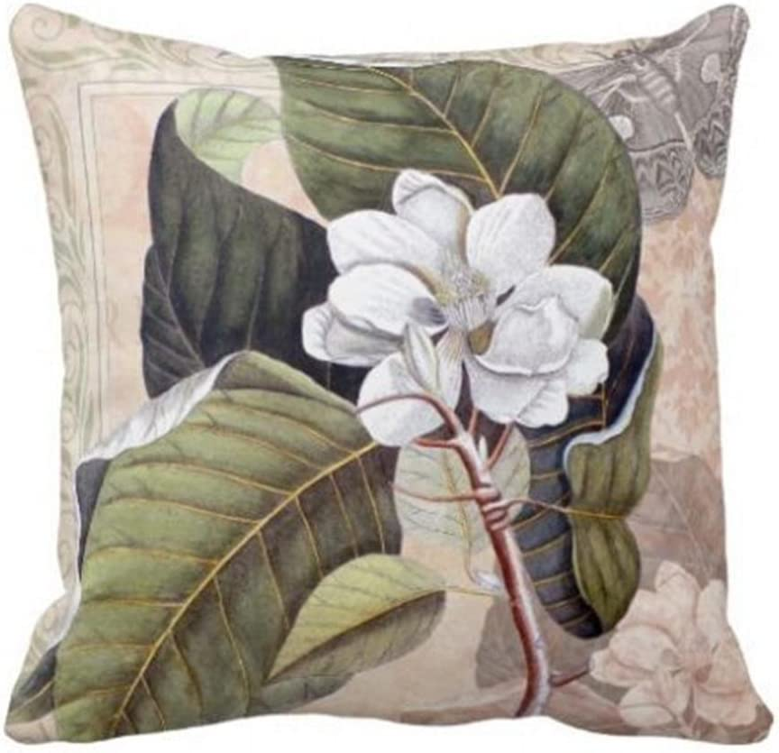 Velour throw pillow cover velour pillow cover unique gift Mother/'s day gift-gift for her Magnolia pillowcase-pillow cover