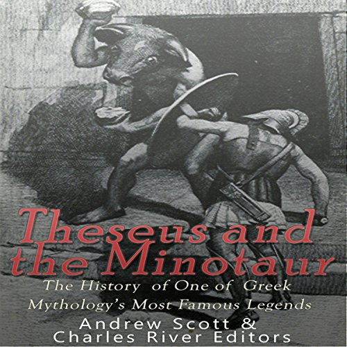 Theseus and the Minotaur audiobook cover art