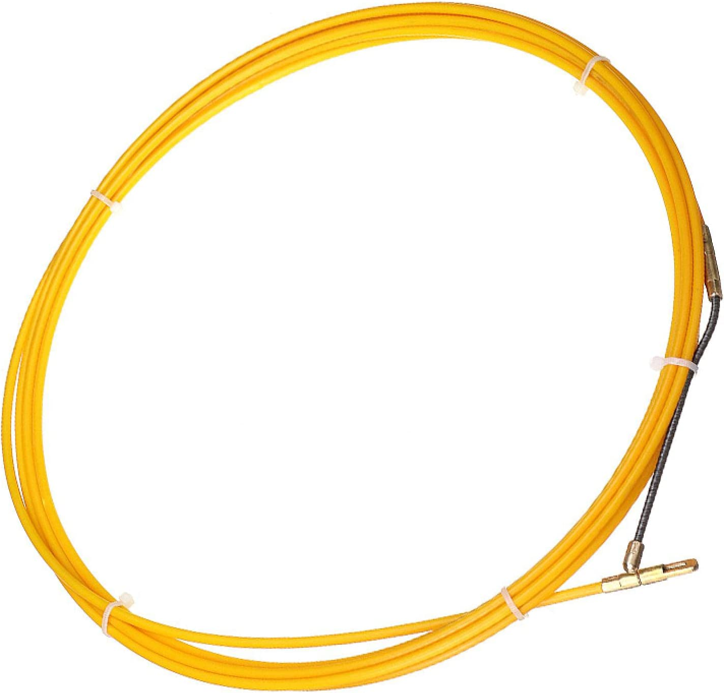 Extractor Cables 5M/10M/15M/20M/25M/30M 4 Mm Diámetro Extractor Cable Fibra Vidrio,Carrete Cinta Pescado,Conducto,Varilla Conducción,Dispositivo Guía Extractor Tracción 30M