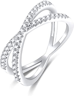 Brightt Bezel Cubic Zirconia with Rope Design .925 Sterling Silver Ring Sizes 4-10