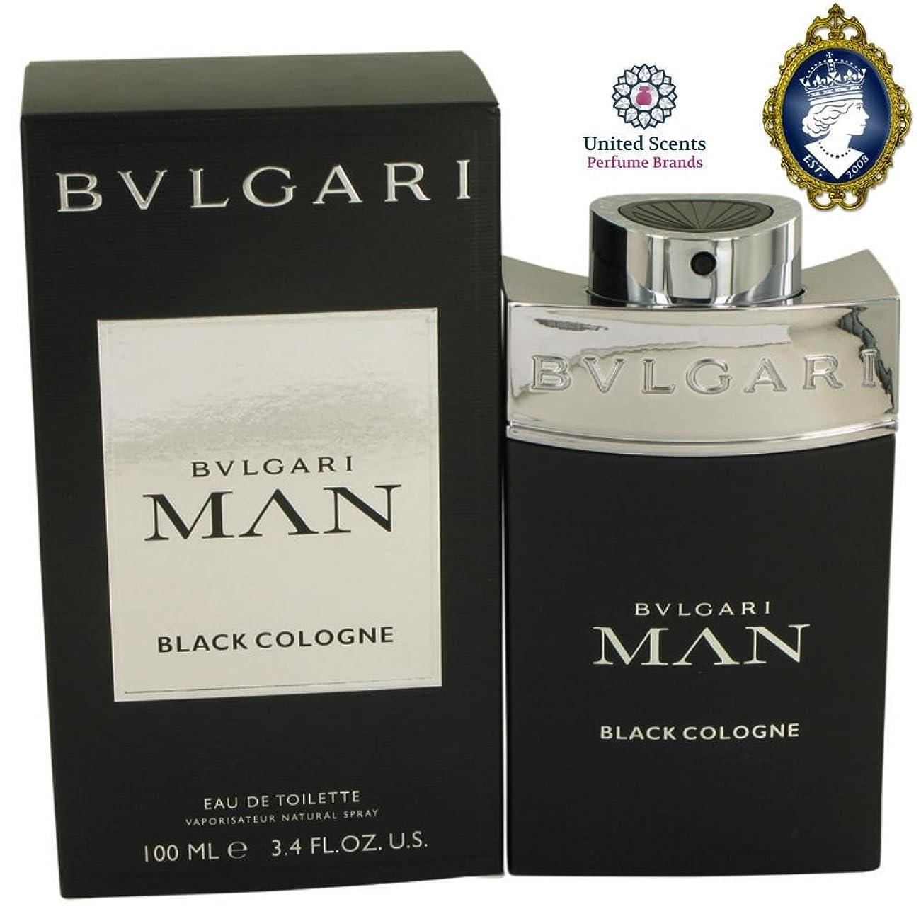 攻撃アジャ批判するブルガリ(BVLGARI) マン ブラック コロン EDT SP 100ml[並行輸入品]