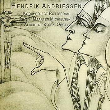 Andriessen: Sonnet - Missa sponza Christi - Omagio a Marenzio - Missa in festo assumptionis Beatae Mariae Virginis
