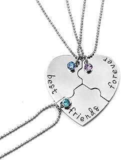 Best three piece friendship necklace Reviews