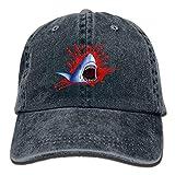ANIDOG Big Shark Mouth Creative Gorras de béisbol Sombreros Ajustables de Mezclilla
